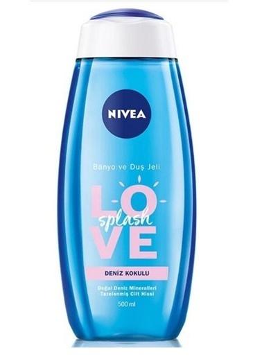 Nivea Nıvea Duş Jeli Love Splash Deniz Kokulu 500 Ml Renksiz